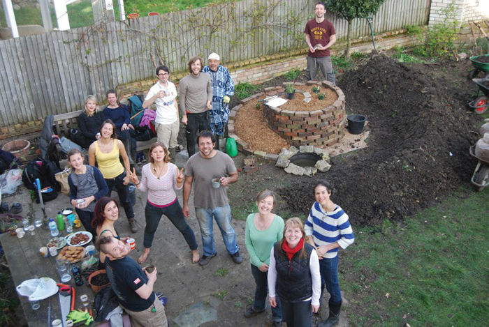 Permaculture principles are applied in a day-long workshop in Lambeth