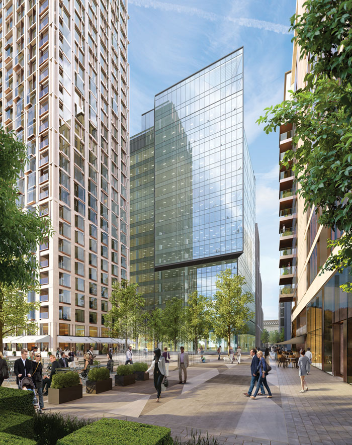southbank place london places inside faces project designcurial naylor johnson designed flat wsp