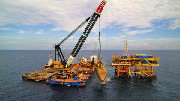 Conquest Offshore MB-1 removes wreck in Mexico - Cranes Today