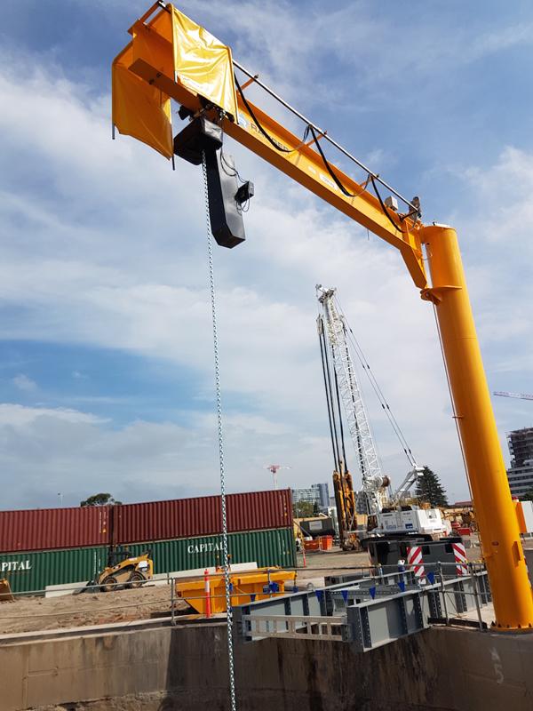 Jib Cranes Suppliers : Ranger jib cranes on hand for tunnel evacuation hoist