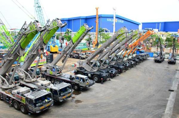 Rough Terrain Crane Malaysia : Zoomlion delivers cranes in malaysia today