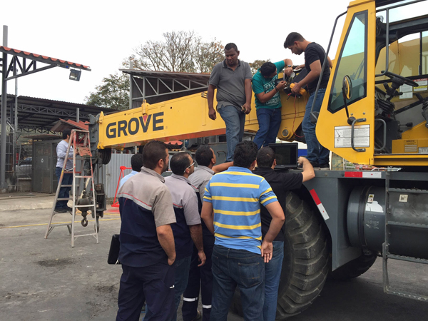 Manitowoc enhances training in Central America and Caribbean