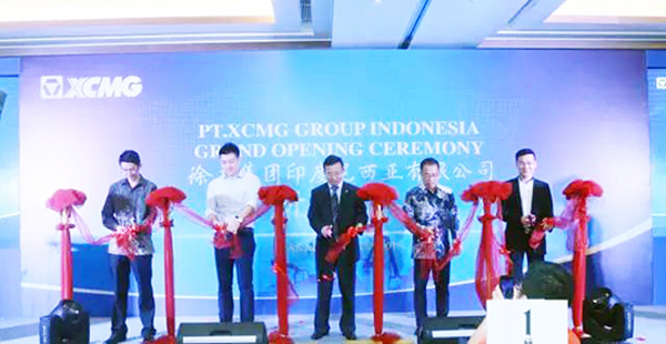 XCMG Indonesia launched - Cranes Today