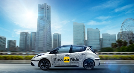 Nissan to launch its self-driving taxi service in Japan next year