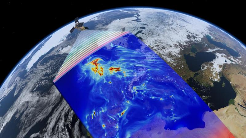 ESA's new Sentinel-5P air quality-monitoring satellite launched into space
