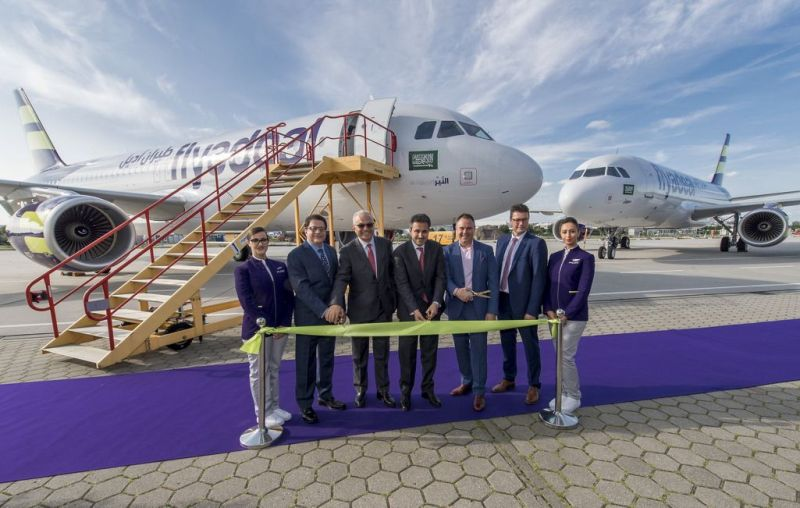 Saudi Arabia's flyadeal gets first A320