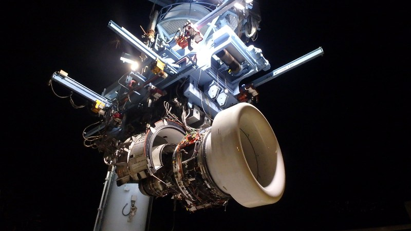 P&W tests next-generation Geared Turbofan engine propulsor