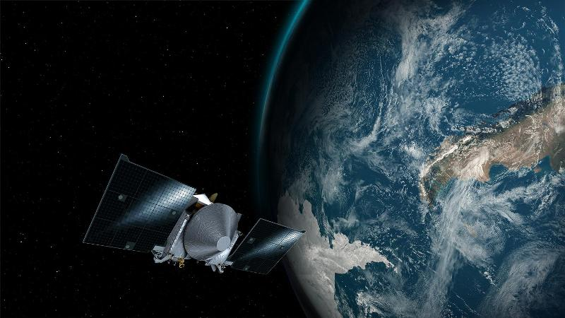 Nasa's OSIRIS-REx spacecraft slingshot past Earth to hunt asteroid Bennu