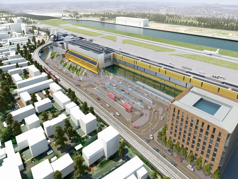London City Airport unveils £400m development plan