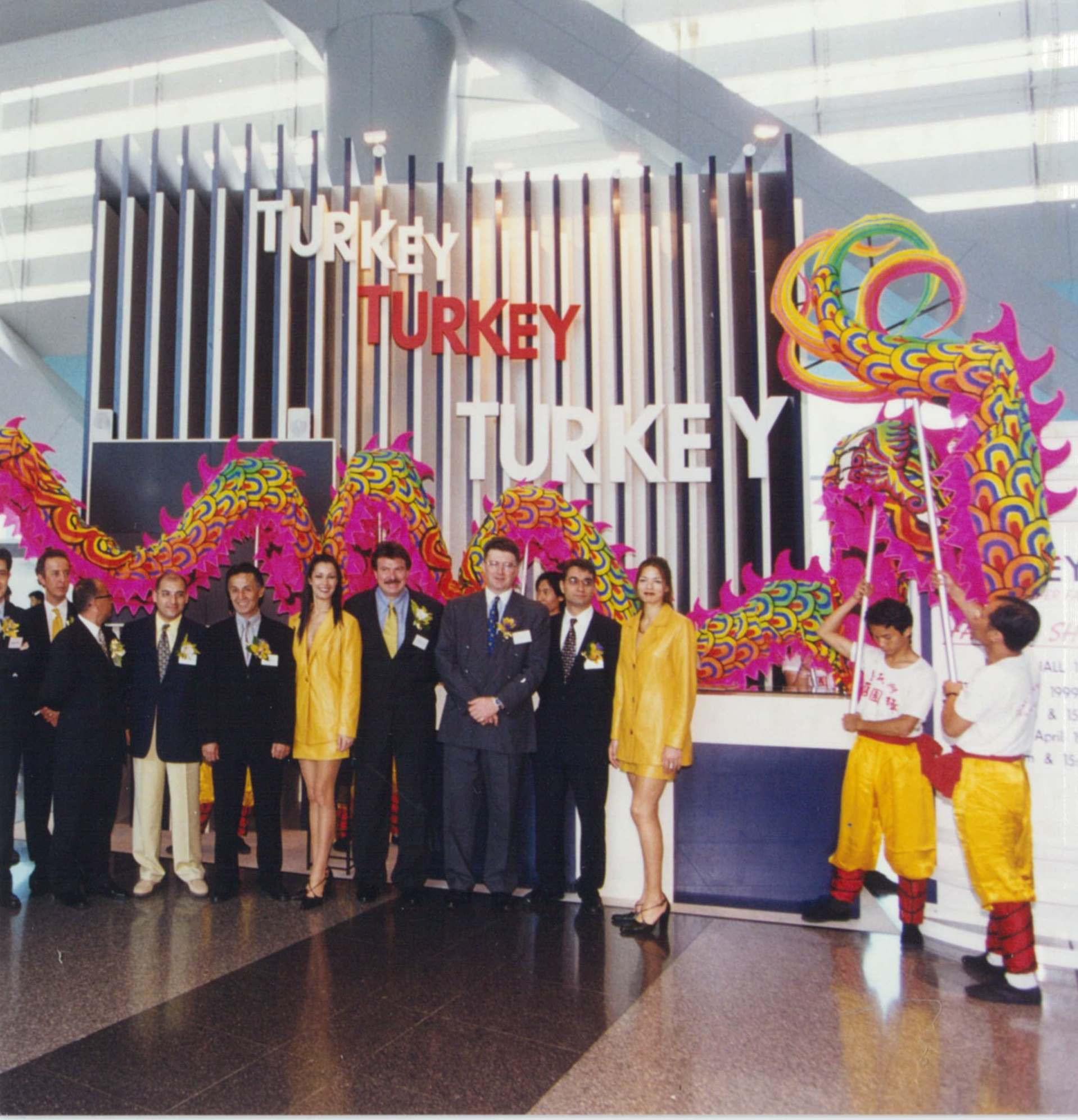 1999 Asia Pacific Leather Fair with Turkey as the Focus Country