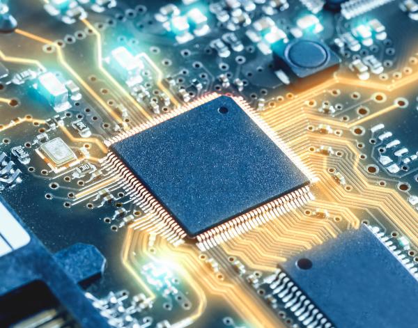 Single Chip Processor Circuit Board