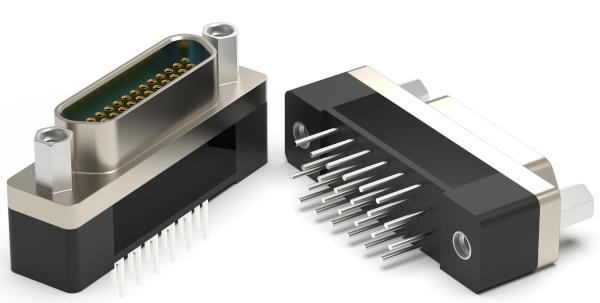 Omnetics' Vertical Standard Space Micro-D