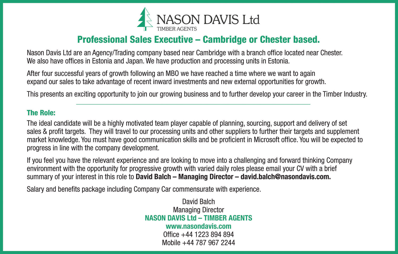 Nason Davis Ltd Timber Agents
