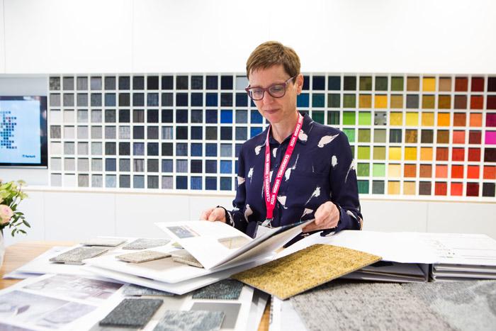 Birgit van de Ven, Tarkett Product Designer