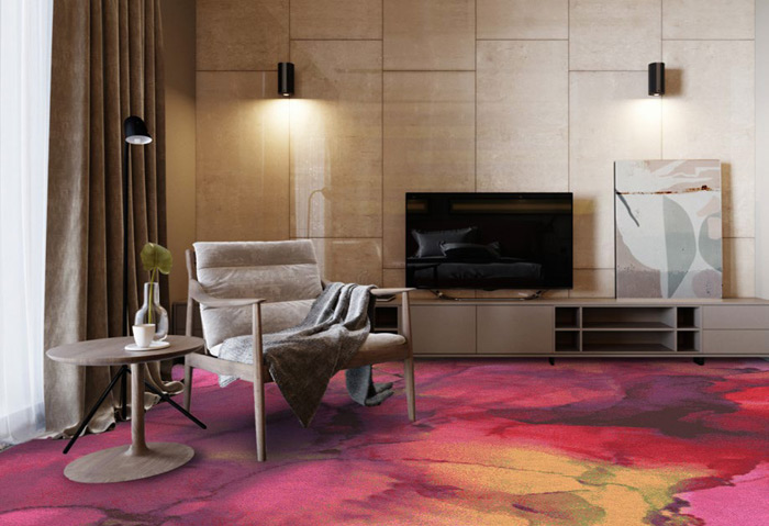 TSAR Retreat Collection—Afterglow Axminster carpet