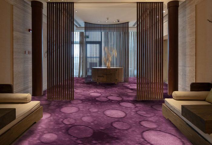 TSAR Retreat Collection—Seaspray Axminster carpet