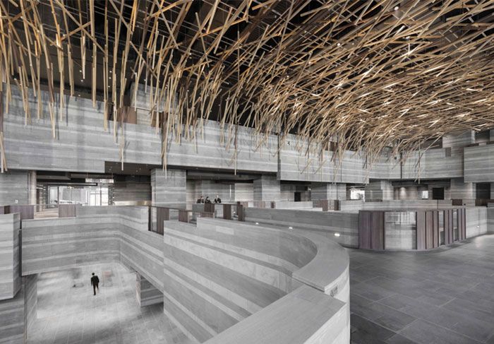 Neri&Hu Design and Research Office, China The Hub Performance and Exhibition Center, Shanghai, China