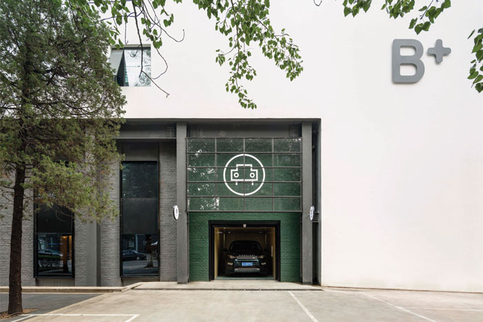 Neri&Hu Design and Research Office, China The Garage, Beijing B+ Automobile Center, Beijing, China