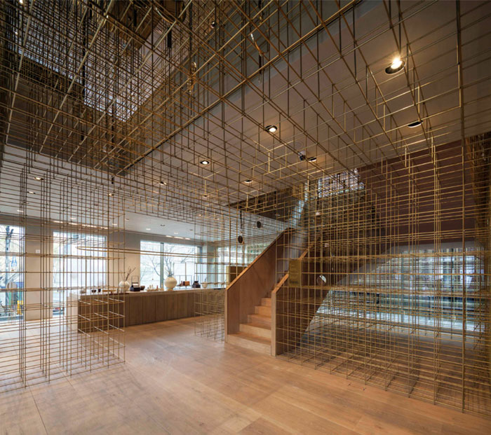Neri&Hu Design and Research Office, China  Sulwhasoo Flagship Store, Seoul, South Korea