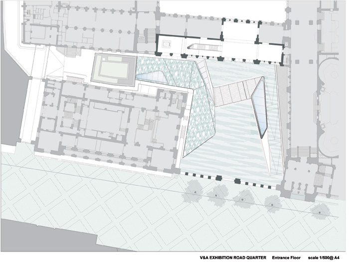 Plan of Exhibition Road Quarter