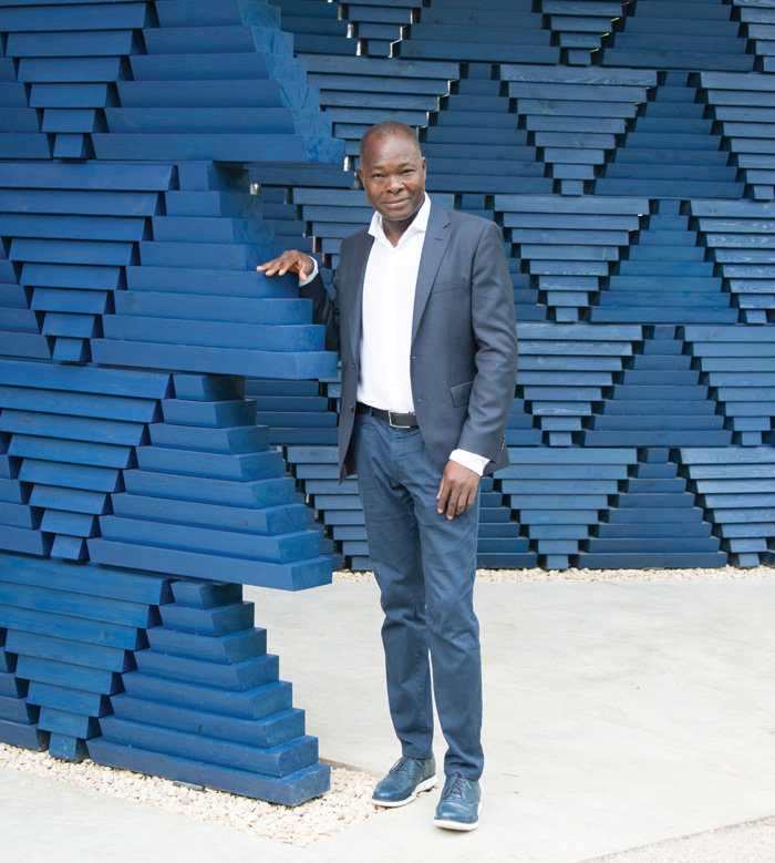 Burkina Faso-born Diébédo Francis Kéré, whose practice Kéré Architecture is based in Berlin