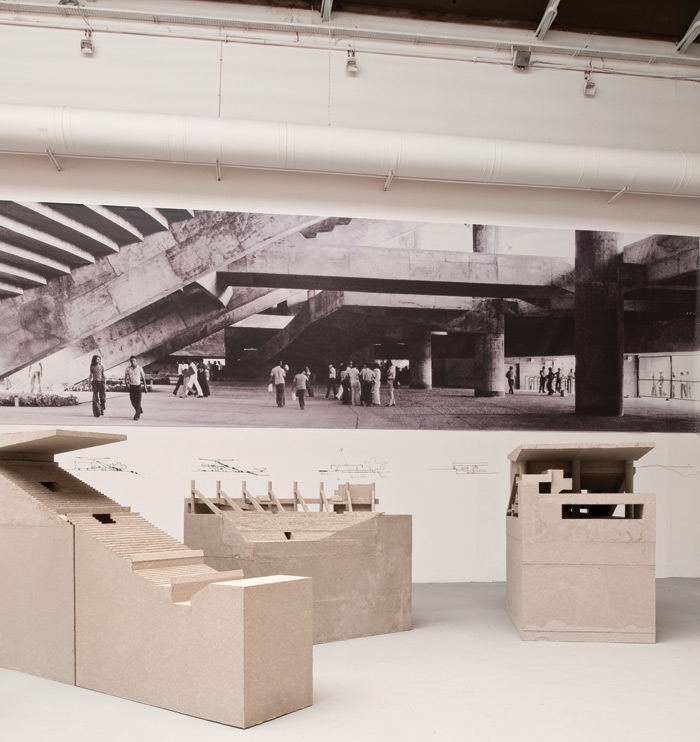 Grafton Architects' contribution to the 2012 Venice Architecture Biennale, inspired by Paolo Mendes da RochaImage Credit: Francesco Galli / Courtesy La Biennale Di Venezia