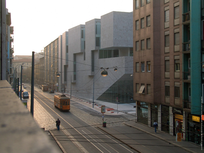 With the Università Luigi Bocconi, Grafton architects wanted to create a building that felt like a solid piece of city, as enduring as those around it. Image Credit: Federico Brunette