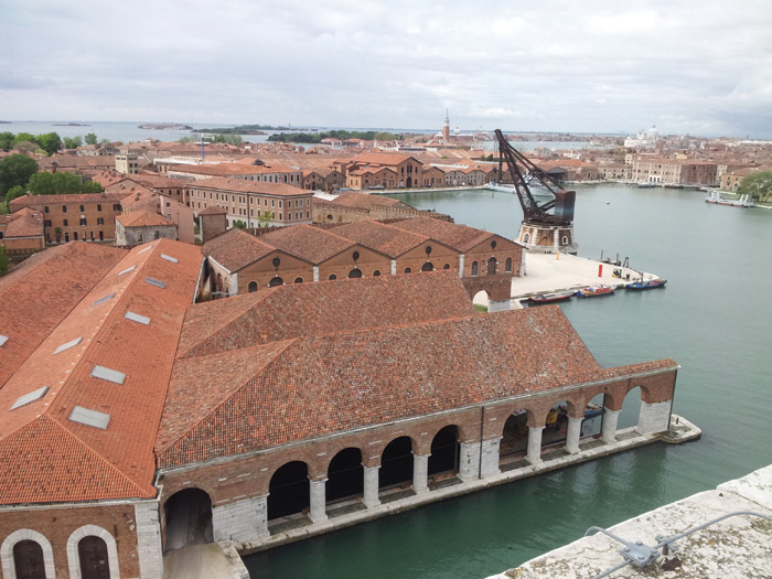 The Arsenale complex of former shipyards and armories in Venice, constructed in the 12th century, became one of the largest scale industrial enterprises in history. Image Credit: Andrea Avezzù / Courtesy La Biennale Di Venezia