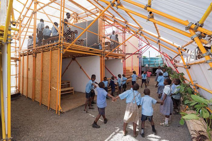 Kibera school, Nairobi 2016