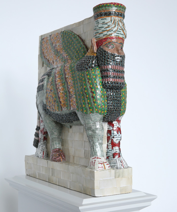 Fourth Plinth commission: The Invisible Enemy Should Not Exist by Michael Rakowitz