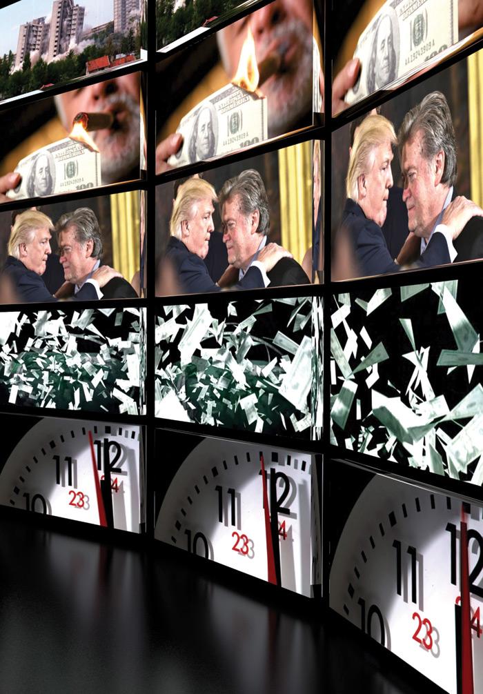 Jonas Staal: Steve Bannon: A Propaganda Retrospective