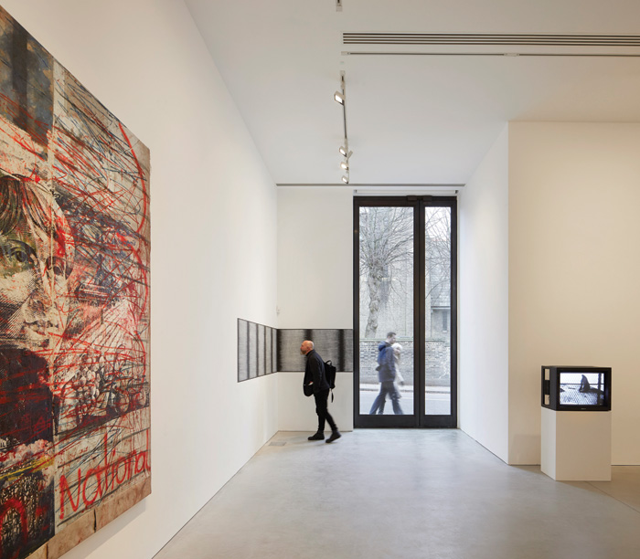 One of the two new galleries created as part of the extention. Image Credit: Hufton+Crow