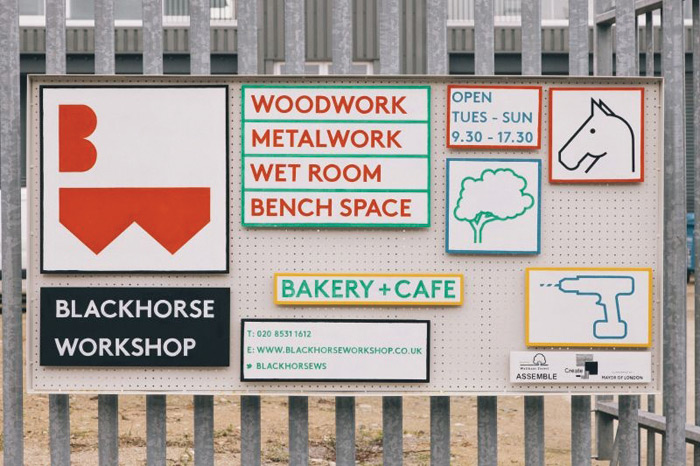 Blackhorse Workshop, an initiative from Assemble in east London's Walthamstow, continues the local area's history of manufacturing