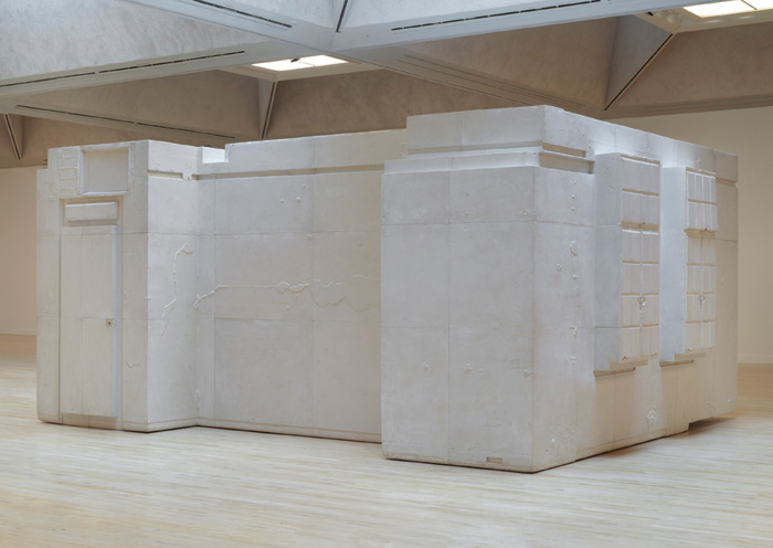 Untitled (Room 101), 2003, which forms part of the new exhibition. Photo Credit: Rachel Whiteread / Tate