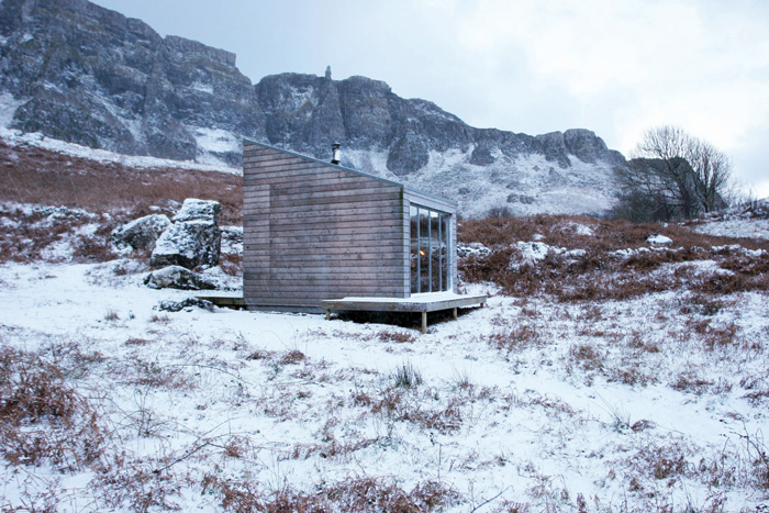 The Sweeney Bothy was created to a proposal by Bobby Niven and poet Alec Finlay. Photo Credit: Bobby Niven