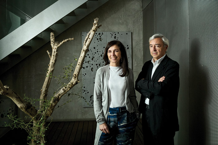 Co-founders Fuensanta Nieto and Enrique Sobejano