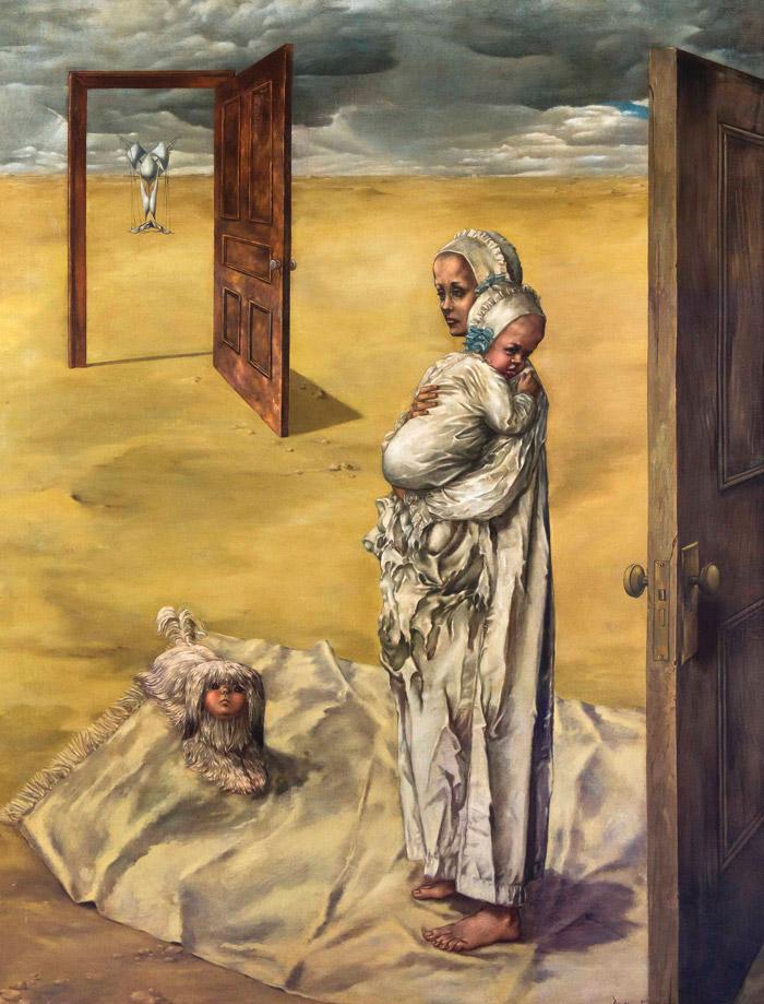 The melancholic Maternity (1946–47). Image Credit: DACS, 2019