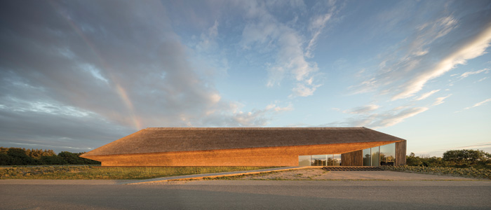 The Wadden Sea Centre, located in the south-western Danish town of Ribe, was opened in 2017. Image Credit: Adam Mørk