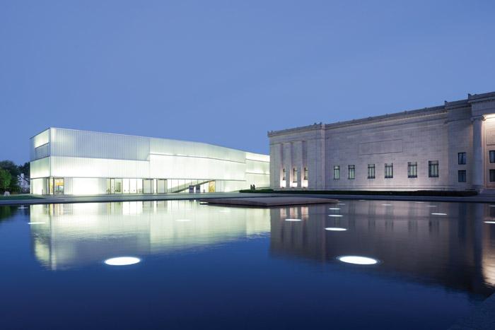 Steven Holl's Nelson Atkins Museum, Kansas City. Image Credit: Iwan Baan / Nelson-Atkins