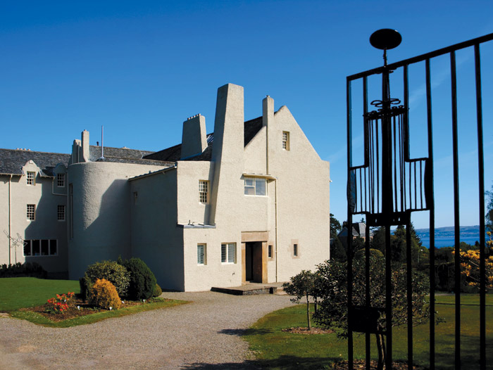 Mackintosh's own home in Hillhead. Image Credit: Stuart Robertson