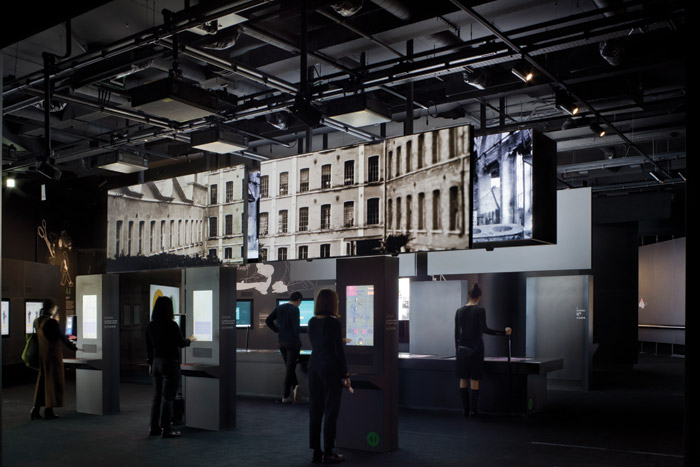Inside M9, the history of the 20th century is told through entirely digital means