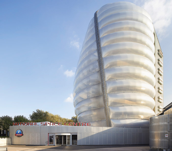 The Leicester Space Centre was a Millennium Project win, which like the Eden Project, used ETFE