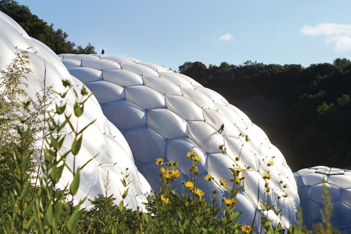 Magnum Opus 2: The Eden Project and in particular the Biomes were to change the very nature of the practice in the 21st century. Image Credit: Hufton+Crow
