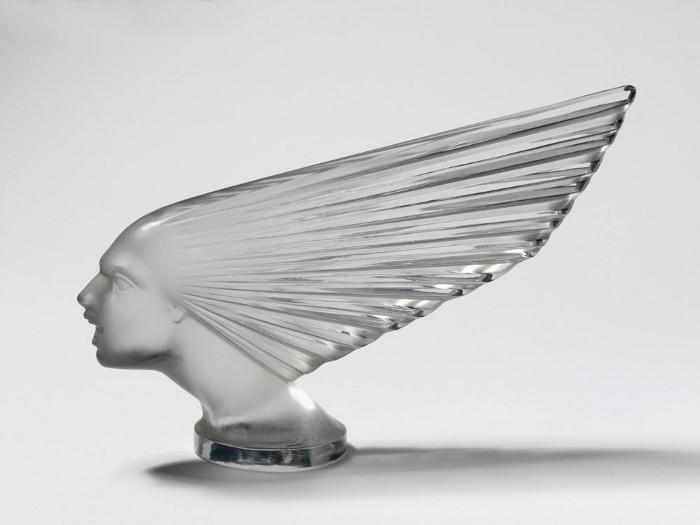 Victoire mascot, designed by René Lalique, circa 1925. Image credit: Victoria and Albert Museum, London.