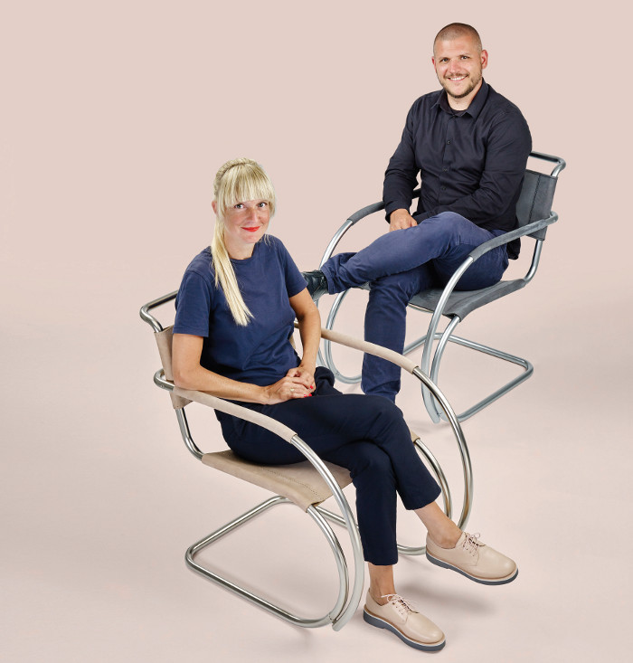 Eva Marguerre and Marcel Besau, Co-founders, Studio Besau Marguerre