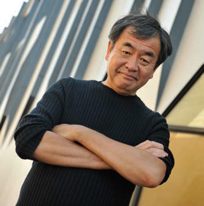 Kengo Kuma, Founder, Kengo Kuma and Associates, KENGO KUMA PORTRAIT: JC CARBONNE