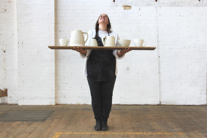 Ceramicist Harriet Caslin will be exhibiting at designjunction