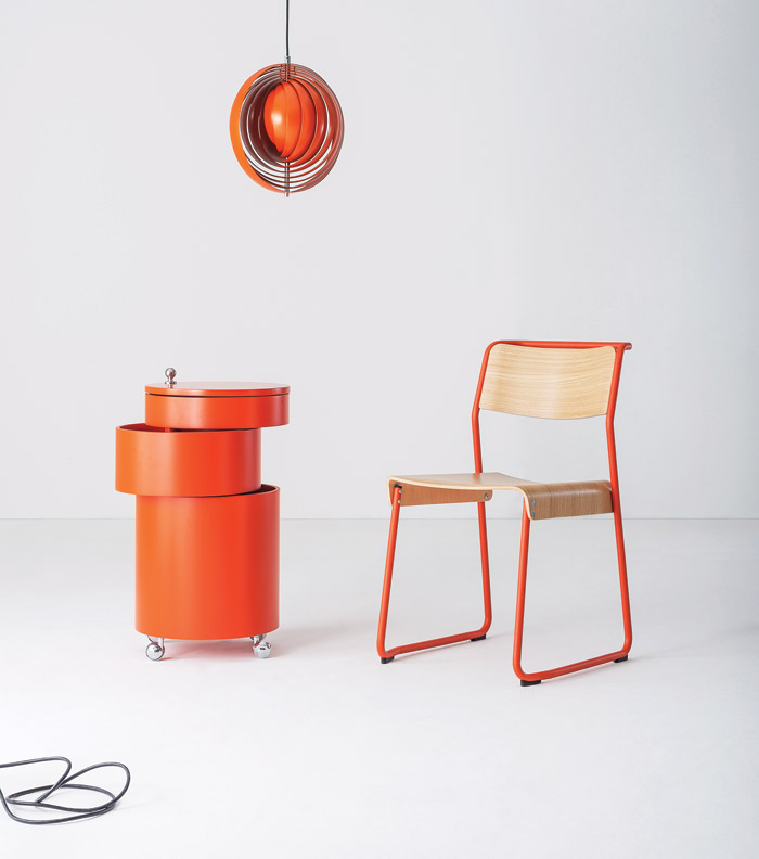 Also at designjunction, Verpan will display its Verner Panton-inspired products