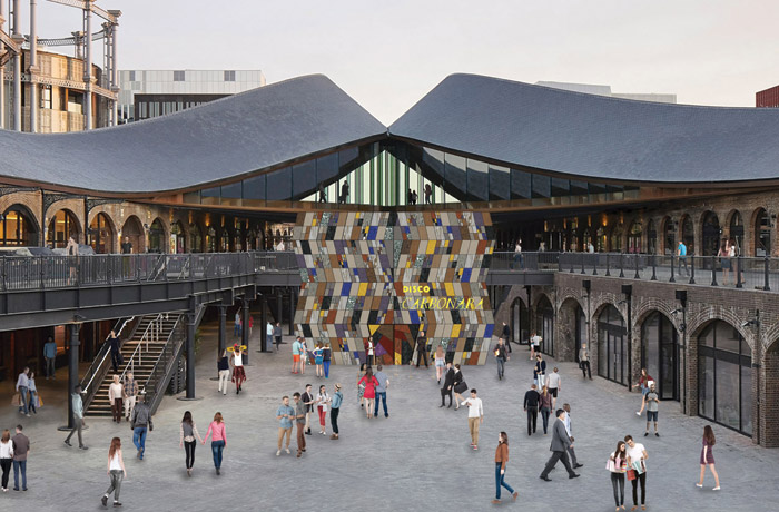Martino Gamper's Disco Carbonara installation will be a 'gateway' to Coal Drops Yard