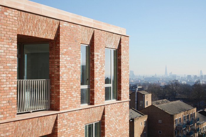 Each apartment is at least dual aspect, with those on the upper floors enjoying views of the London skyline